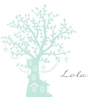 Silhouette geboortekaartje met mooie boom en schommel. Gebruik deze kaart en maak hiervan zelf je eigen persoonlijke geboortekaartje. Wil je de kaart door ons laten opmaken? Geen probleem, wij helpen je graag!