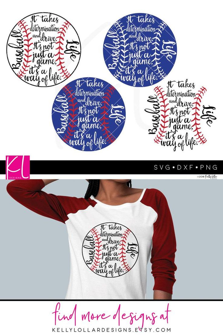 Baseball Life Svg Datei mit OriginalZitat für Baseball