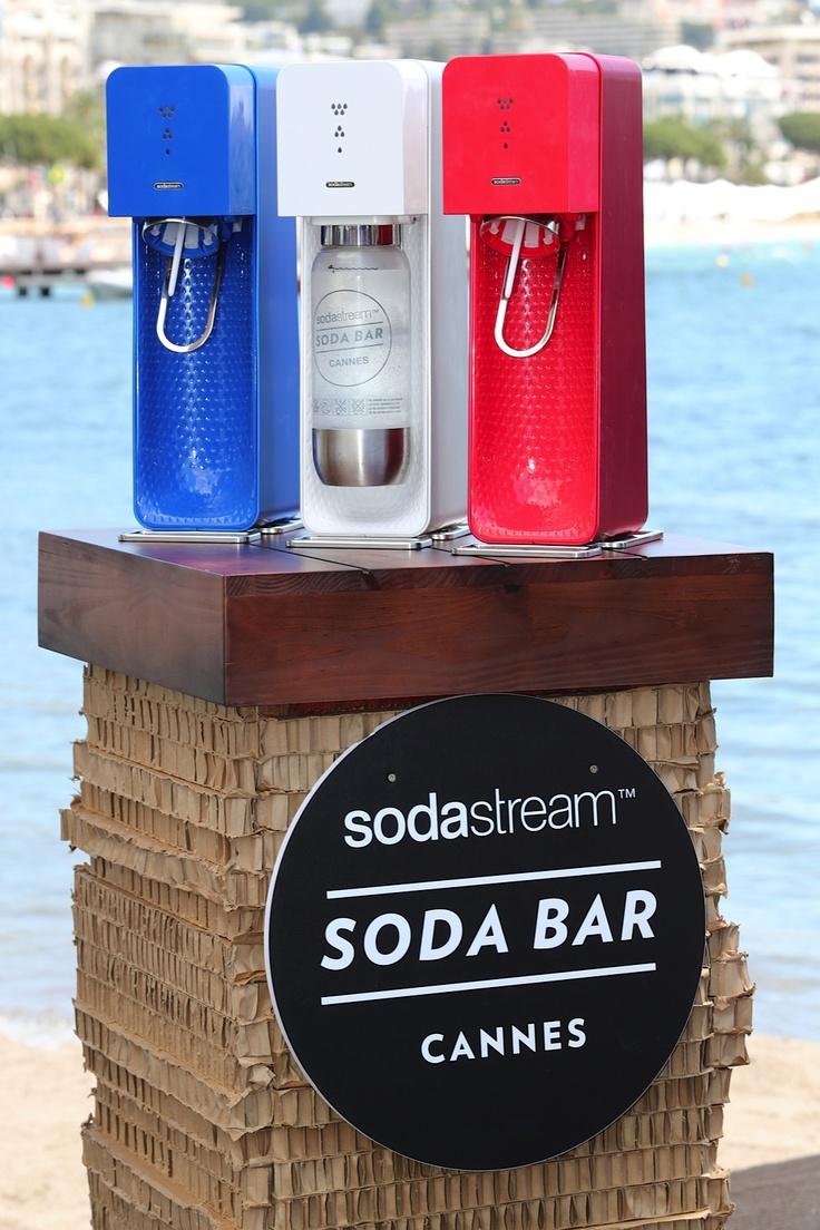 Mini SodaBar at #Cannes2013