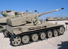 AMX-13 a powerfull artillery vehicle