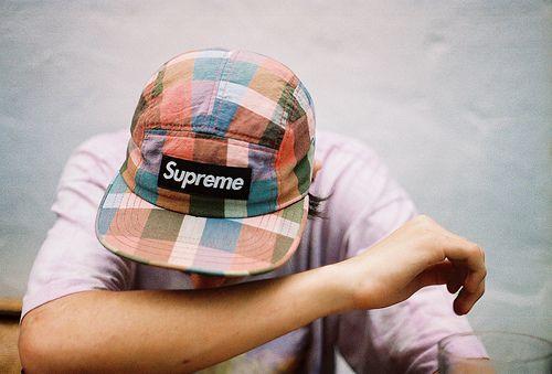 Supreme caps.