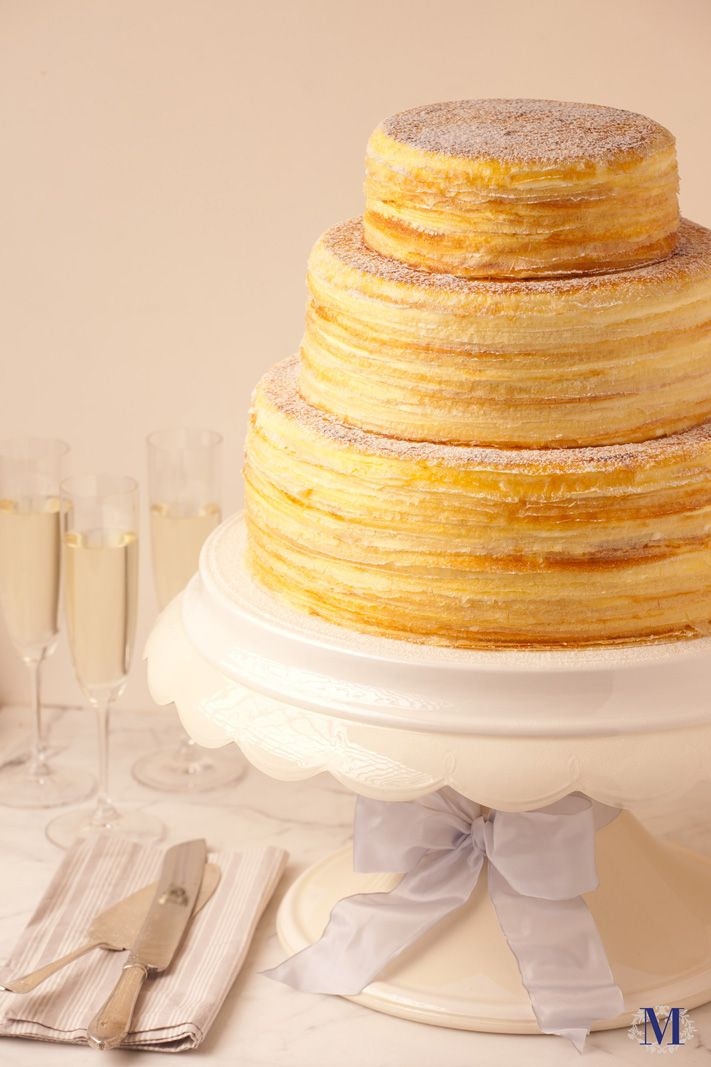 Lady M® Wedding Mille Crêpes @ Lady M Confections