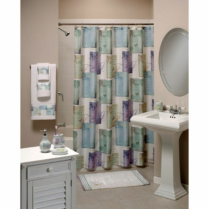 135 best Shower Curtains images on Pinterest | Bathroom, Bathrooms ...