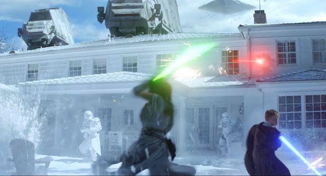 Duracell #StarWars Battle for Christmas Morning