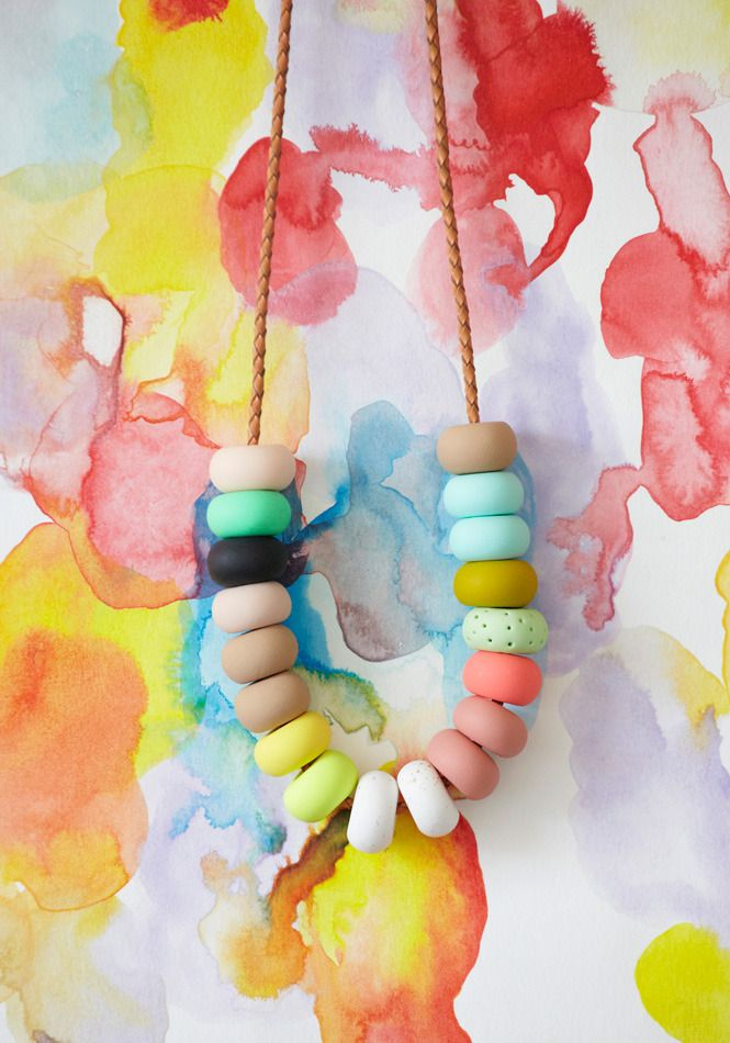 LOLA 18 Bead Necklace | Emily Green