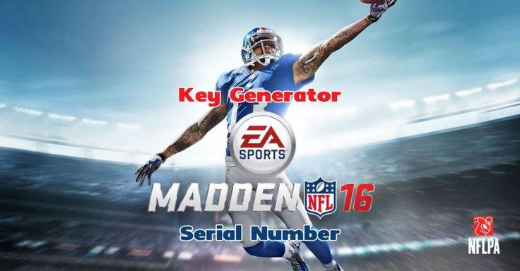 Madden NFL 16 Key Generator - CheatsGo!