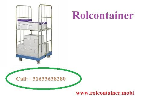 The rolcontainer is steel framed vertical shelving systems that allow you to have many types of storage, including shelves, open and various other enclosures.