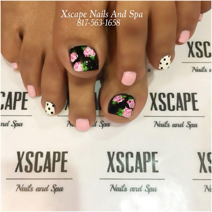 Spring toe designs