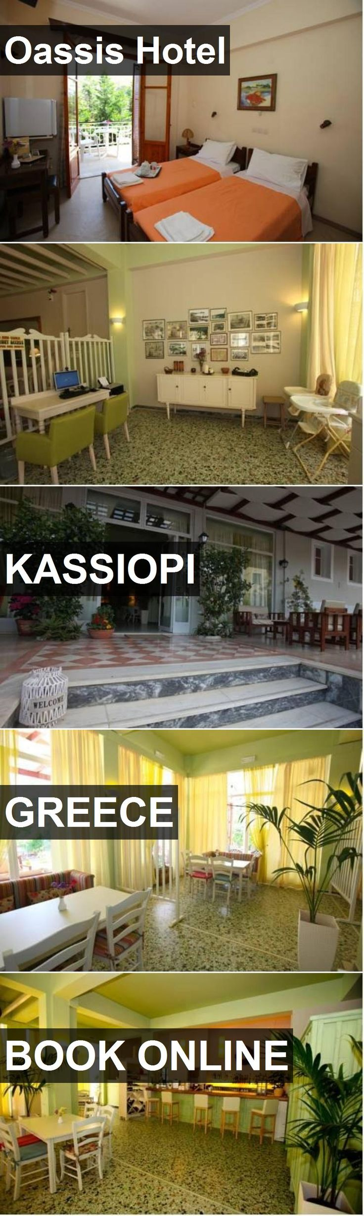 Oassis Hotel in Kassiopi, Greece. For more information, photos, reviews and best prices please follow the link. #Greece #Kassiopi #travel #vacation #hotel