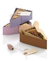 Food packaging... great idea to send people home with leftovers on thanksgiving
