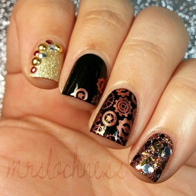 10 best nails steampunk images on pinterest steampunk fashion steampunk nails prinsesfo Gallery
