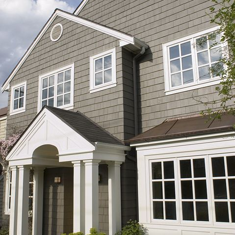 23 Best Images About House Colors On Pinterest Repose Gray Front Doors And Black Shutters