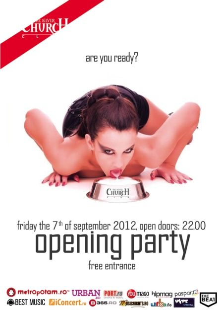 The Opening Party in The Silver Church Club. The 7th of September 2012.