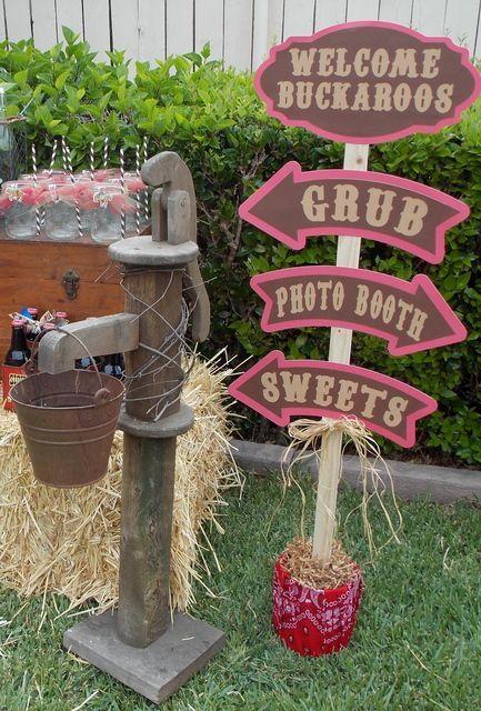 Ideas Para Tu Fiesta: Un cumple en el Lejano Oeste  Cowboy Party Ideas
