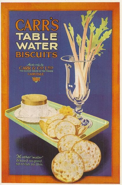 source: ADVERTISEMENT  1925 for Carr's Table Water Biscuits. The ad reveals that the living conditions in the 1920s was skyrocketing from pale war time to a new  affluent life. With the booming economy and the development in industries, people were able to walk out of the shadow of the painful consequence of the war and they started to buy consumer goods again and their leisure and entertaining life had been enriched. People's day-by-day colourful life shows the prosperity of the decade.