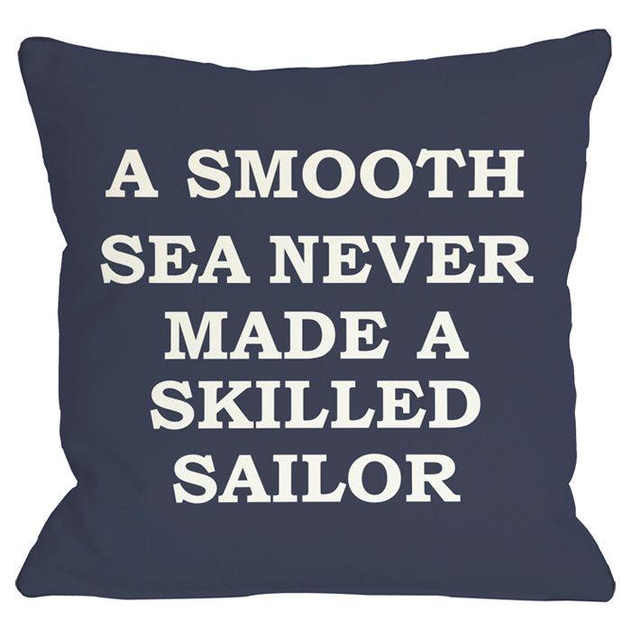 Smooth Sea Pillow