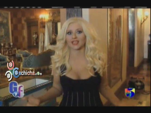 Christina Habla de Alejandro Fernandez #Video - Cachicha.com