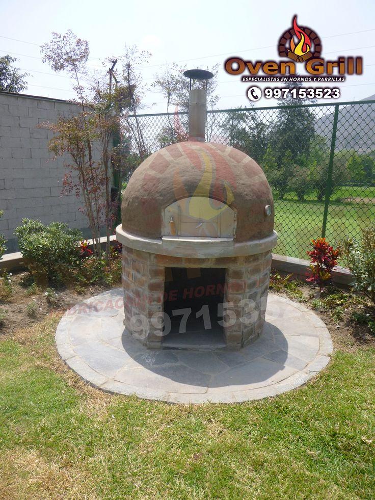 horno de barro para casa de campo oven grill cel