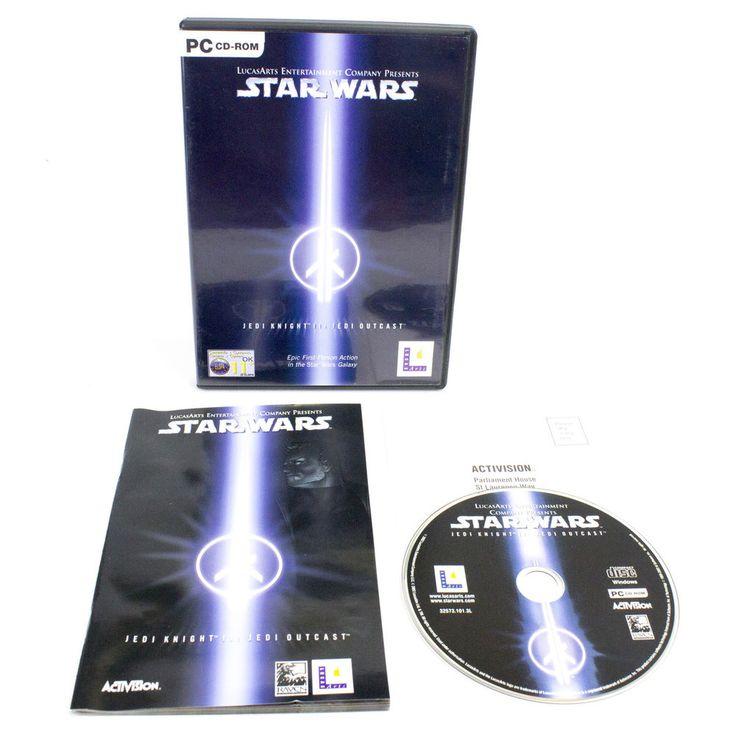 Star Wars Jedi Knight II: Jedi Outcast for PC CD-ROM by LucasArts, 2002
