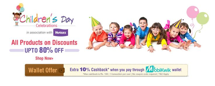 firstcry is offering Upto 80% OFF on Kids Product How to catch the offer: Click here for offer page Add Productin your cart Login or Register Fill the shipping details Make final payment