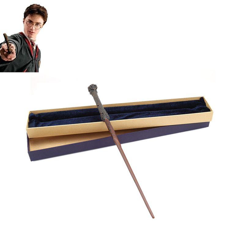 Inti logam Harry Potter Tongkat Sihir/Harry Potter Tongkat Magical/Harry Potter Tongkat/Kualitas Tinggi Kotak Hadiah Packing