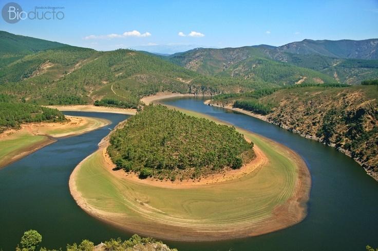 Meandro Melero, en el río Alagón.