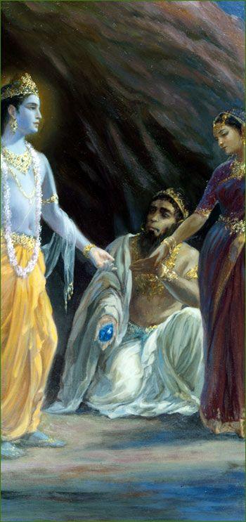 Krishna, Jambavan & Jambavati