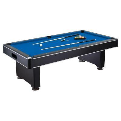 Hathaway Hustler 8 ft. Pool Table-BG2520PB - The Home Depot