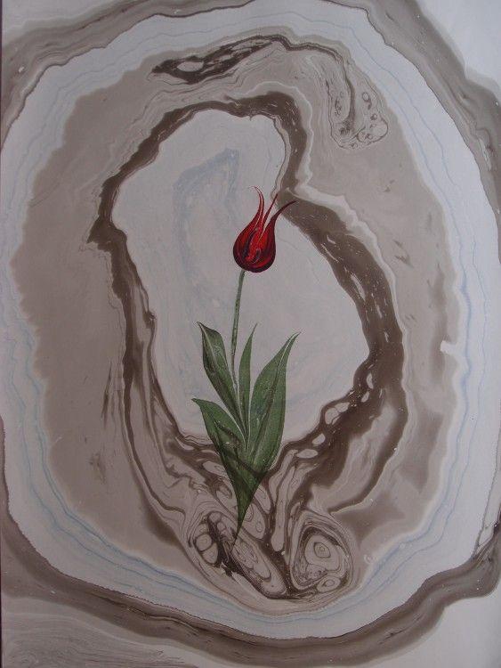 Tulip (Artcraft) Miki Oshita tarafından doblu print