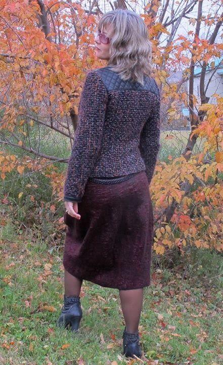 Видео Мастер-класс по валянию юбки типа тюльпан (или баллон). Заказать: http://studiavoiloka.ru/