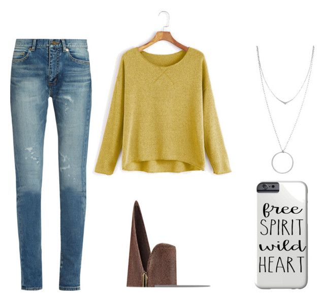 """""""Casual"""" by juanaguzman on Polyvore featuring Yves Saint Laurent, Nine West and Botkier"""