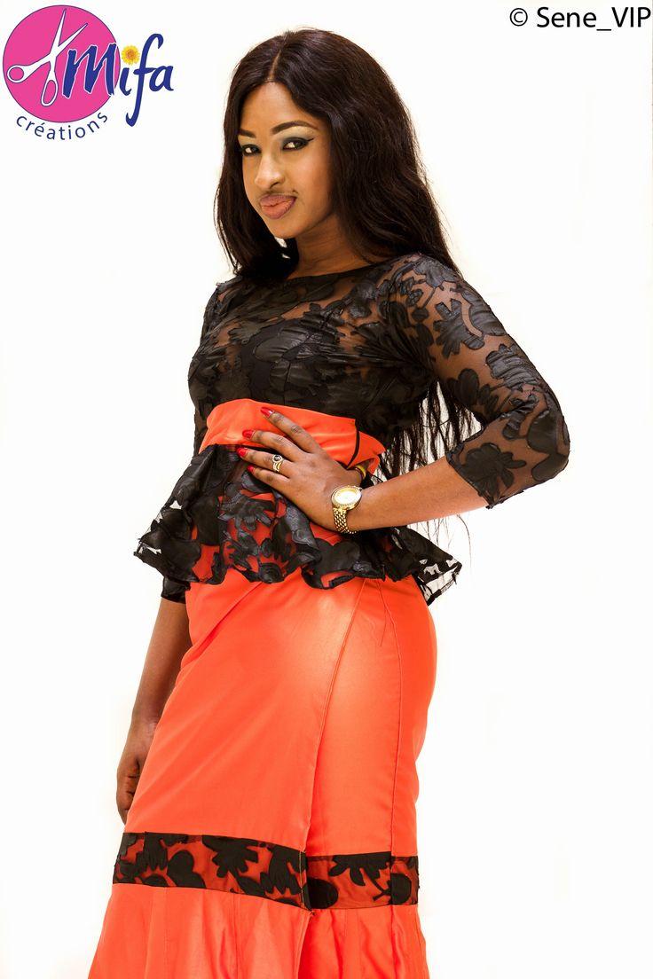 Taille Basse Sénégalaise à la mode Pagne et Haut Mode