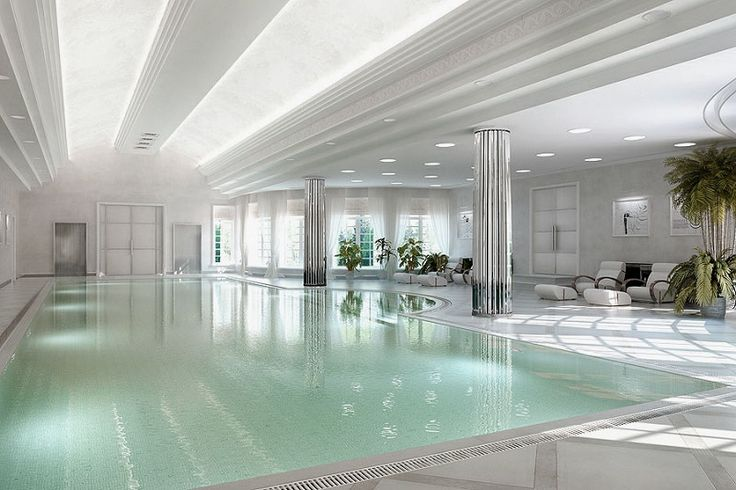 Gorgeous indoor pool design ideas with fancy for Fancy swimming pool designs