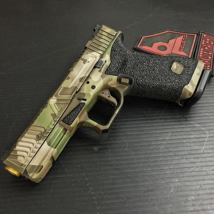 Agency Arms camo Glock