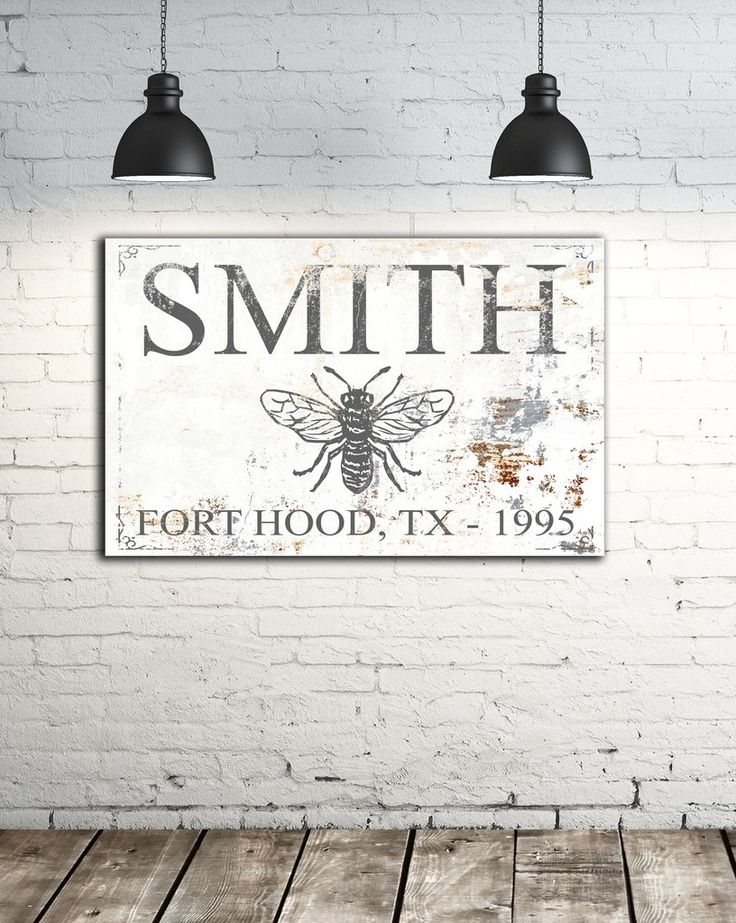 Make it yourself-       Established Family Signs - Farmhouse Decor Wall Art