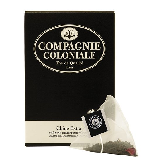 Thé Chine extra - Compagnie Coloniale - Etre Gourmand