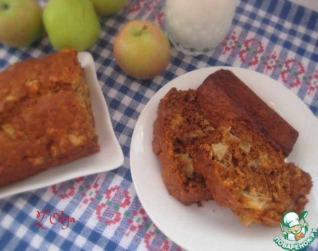 Десертный яблочный хлеб