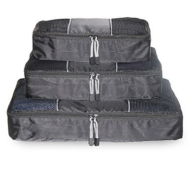 Luggage+Organizer+/+Packing+Organizer+Toiletry+Bag+Waterproof+Portable+for+Travel+Storage+Net+Fabric+–+AUD+$+20.43