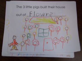 Mrs. Wood's Kindergarten Class: The Three Little Pigs