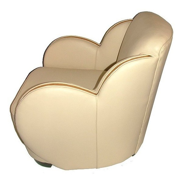 Art Deco Cloud Back Armchairs Found On Polyvore Art Deco