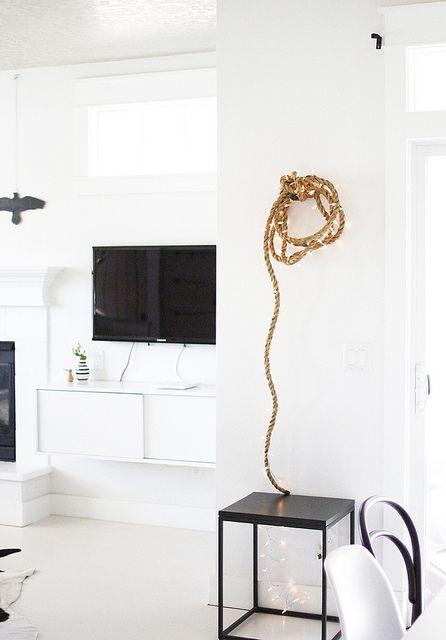 rope light DIY