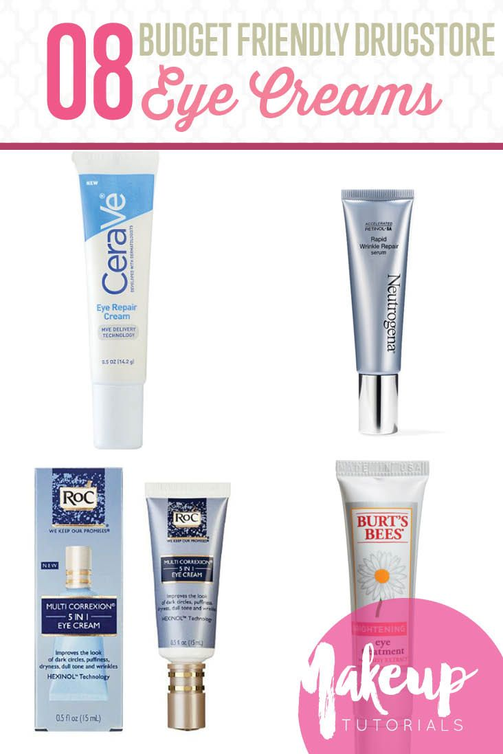8 Best Drugstore Eye Creams To Fix All Your Eye Problems | Beauty Tips And Tricks by Makeup Tutorials at http://makeuptutorials.com/8-best-drugstore-eye-creams-fix-eye-problems/