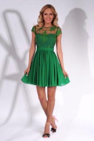 A beautiful green dress for an amazing event https://missgrey.org/en/dresses/rochie-erin-scurta-verde/554?utm_campaign=iulie&utm_medium=rochie_erin_scurta_verde&utm_source=pinterest_produs