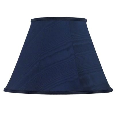Empire Lampshade Navy Blue Moire