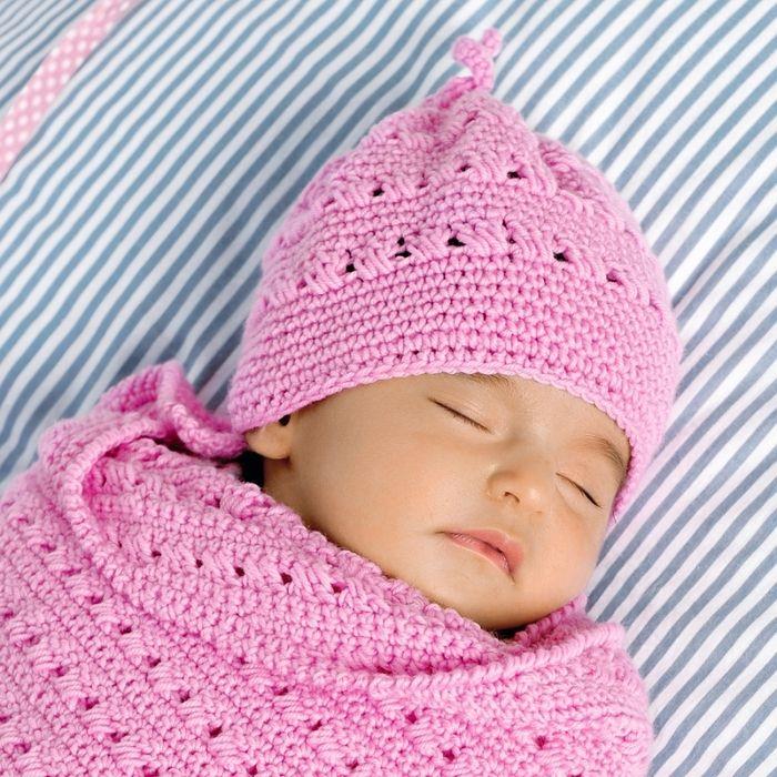 Детская шапочка с ажурным узором и летняя кепка для мальчика » Женский Мир