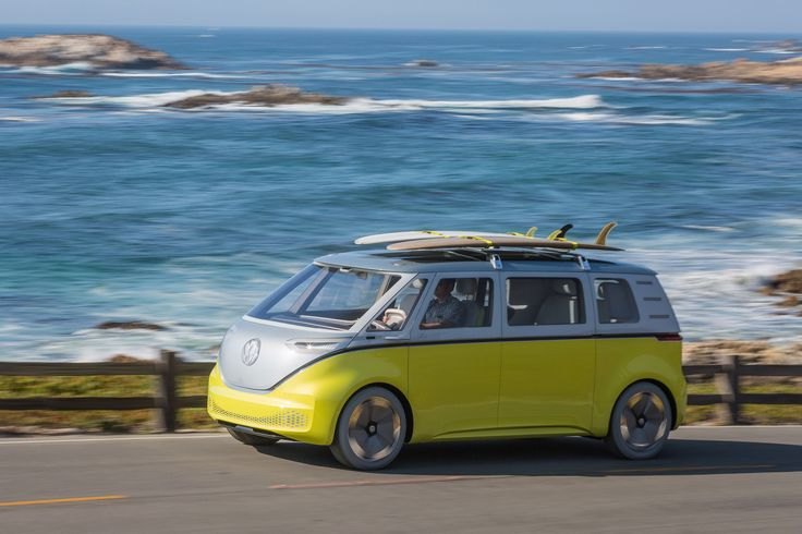 A staple of coastal California's towns, the Volkswagen Microbus will be reincarnated as an electric vehicle. VW announced that it will build a version of its I.D. Buzz concept bus, which it hopes...