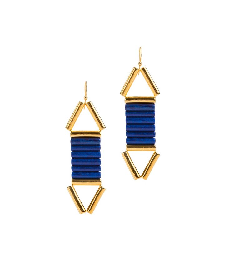 Bela Louloudaki Blue Vice Versa Earrings
