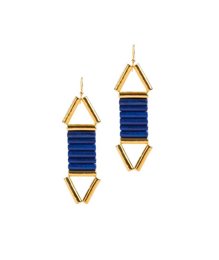Bela Louloudaki Blue Vice Versa Earrings