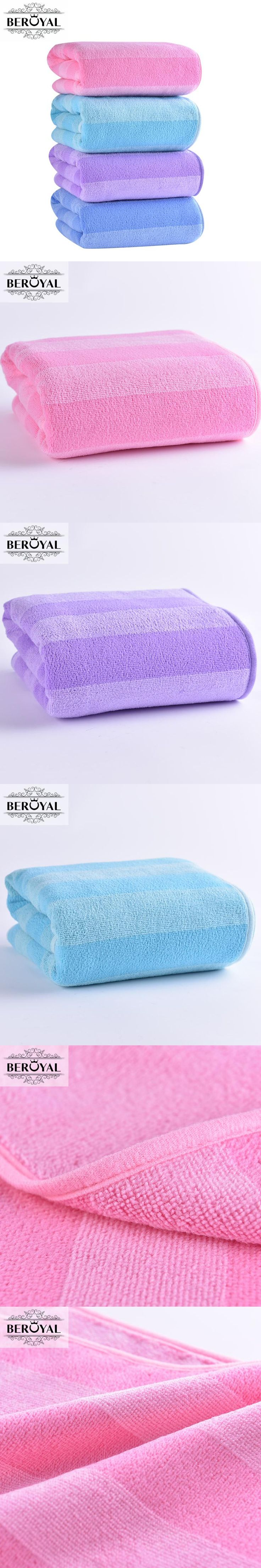 New 2017 Absorbent Bath Towel -- 70*140cm Microfiber Towel Quick-Drying Stripe Towels Spring/Autumn Swimming Spa Towel for Adult