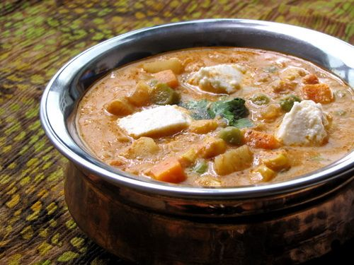 Navratan Korma - step by step with pictures. I've tried this recipe and it is really good. #indian